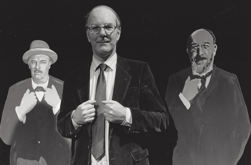 With Lord Berners and Satie on the South Bank Show